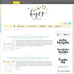 ¡Happy Diseño! Gratis Archives - Happy Paperie® » Happy Paperie®