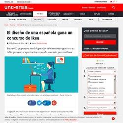 El diseño de una española gana un concurso de Ikea