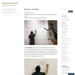 Diseño (I) – Ale Muñoz