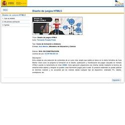 Diseño de juegos HTML5