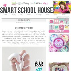Dish Soap Silly Putty