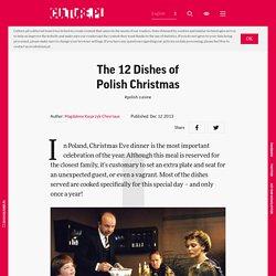 The 12 Dishes of Polish Christmas