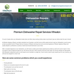 Hassle Free Dishwasher Repair Services In Wheaton