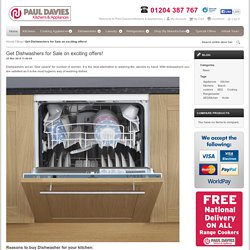 Get Dishwashers for Sale on exciting offers!