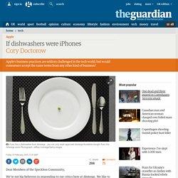 If dishwashers were iPhones