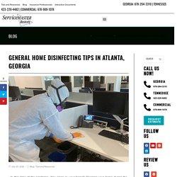 Home Disinfecting Tips in Atlanta, GA