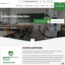 School Disinfecting Services Los Angeles