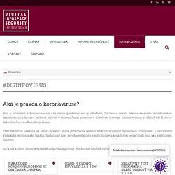 #DISINFOVÍRUS - Digital Infospace Security Initiative