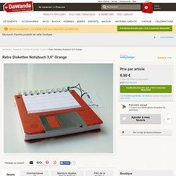 """Retro Disketten Notizbuch 3,5"""" Special Edition - Livres - DaWand"""