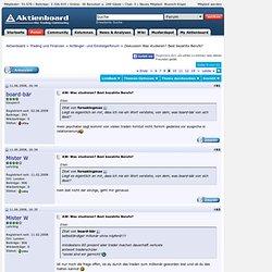 Diskussion Was studieren? Best bezahlte Berufe? - Seite 9 - Aktienboard