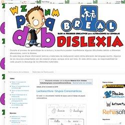 BREAL-Dislexia: Material 03.4: Sílabas trabadas/grupos consonánticos/sínfones