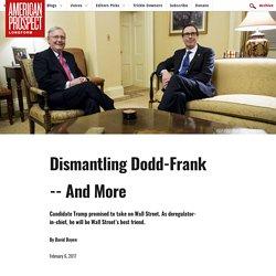 Dismantling Dodd-Frank
