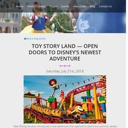 Toy Story Land — Open Doors to Disney's Newest Adventure