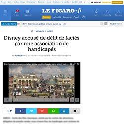 Disney accusé de délit de faciès par une association de handicapés