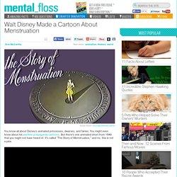 Walt Disney Made a Cartoon About Menstruation