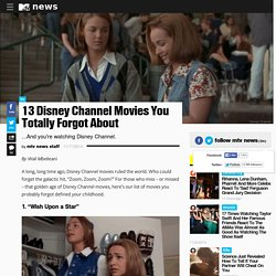 13 Disney Channel Movies You Totally Forgot About