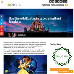 How Disney Built an Empire by Designing Brand Experience