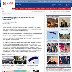 EuroDisneyjugépourdiscriminationàl'embauche