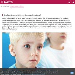 Disney : héros orphelins, pas trop dur pour les enfants