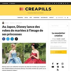Au Japon, Disney lance des robes de mariées à l'image de ses princesses