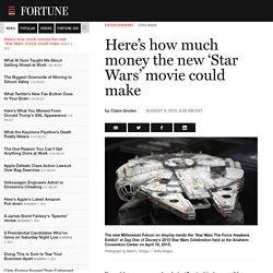 Disney's New Star Wars Movie Could Bring In $2.2 Billion