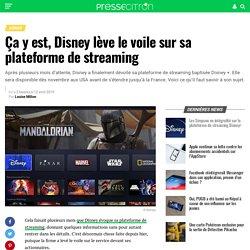 Ça y est, Disney lève le voile sur sa plateforme de streaming