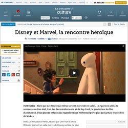 Disney et Marvel, la rencontre héroïque