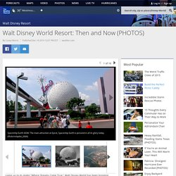 Walt Disney World Resort: Then and Now (PHOTOS)