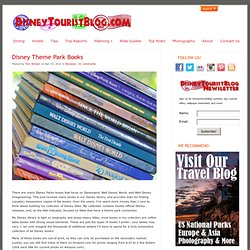 Disney Theme Park Books
