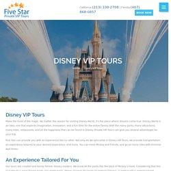 Disney VIP Tours - Five Star Private VIP (407) 868-0857