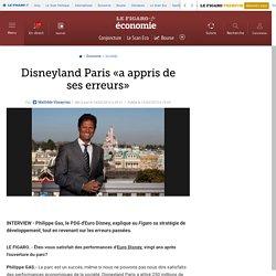 Disneyland Paris «a appris de ses erreurs»