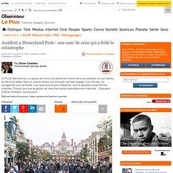 Accident à Disneyland Paris : une com' de crise qui a frôlé la catastrophe