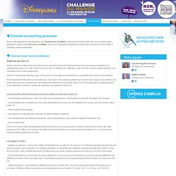 Disneyland Paris Careers - Coaching personnel