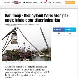 (20+) Handicap: Disneyland Paris visé par une plainte pour discrimination