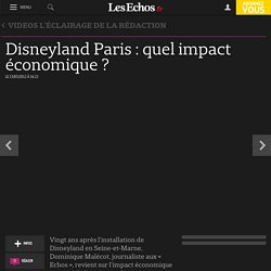 Disneyland Paris : quel impact économique ?