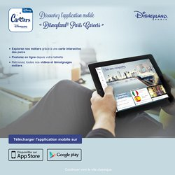 Disneyland Paris Learning Program / Actualités