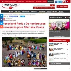 Disneyland Paris : De nombreuses nouveautés pour fêter ses 25 ans