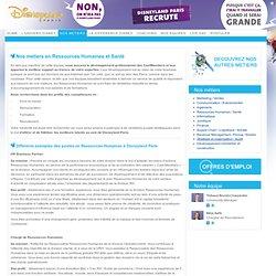 Disneyland Paris Careers - Ressources Humaines / Santé