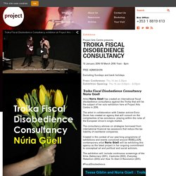 TROIKA FISCAL DISOBEDIENCE CONSULTANCY