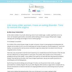 Eating Disorder Treatment for Older Women Ireland