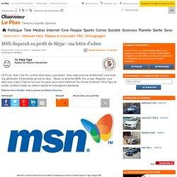 MSN disparaît au profit de Skype : ma lettre d'adieu