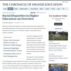Racial Disparities in Higher Education: an Overview