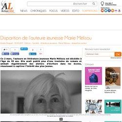 Disparition de l'auteure jeunesse Marie Mélisou
