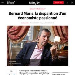 Bernard Maris, la disparition d'un économiste passionné