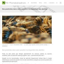 Des pesticides dans votre assiette à la disparition des abeilles
