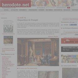 24 août 79 - Disparition de Pompéi - Herodote.net
