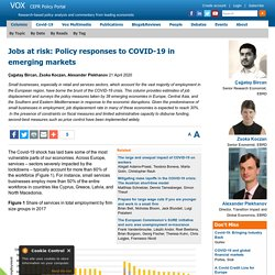 COVID-19: Job displacement in emerging markets