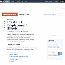 Create 3D Displacement Effects in Photoshop