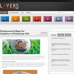 Displacement Maps for Graphics in Photoshop CS4