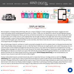 Display Media Agency India, Online Display Media Advertising